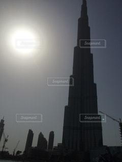 灼熱の太陽の写真・画像素材[2161158]