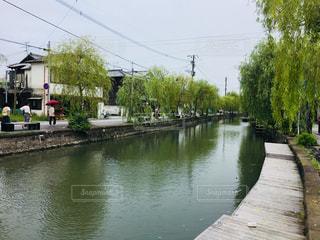歴史の町、福岡柳川。鰻せいろ、最高です。の写真・画像素材[2302093]