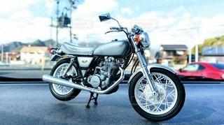 オートバイのプラモデルの写真・画像素材[2097996]