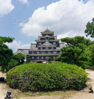 岡山城の写真・画像素材[2100715]