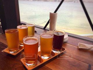 ビールの飲み比べの写真・画像素材[2106446]