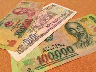 紙幣 ベトナムドンの写真・画像素材[2374418]