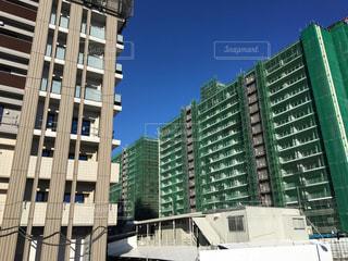 建設中の東京オリンピック選手村の写真・画像素材[2116985]