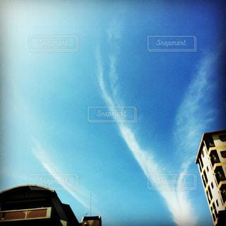 不思議な雲の写真・画像素材[2106346]
