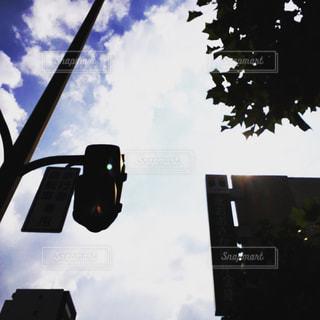 信号の写真・画像素材[2106347]