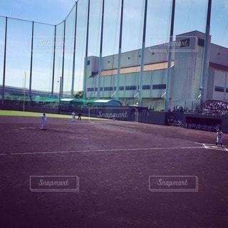 野球の試合の写真・画像素材[88541]