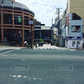 JR神戸線 摂津本山駅前の写真・画像素材[649645]