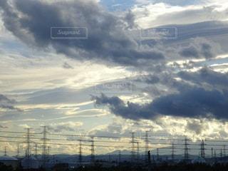 賑やかな空の写真・画像素材[2104965]