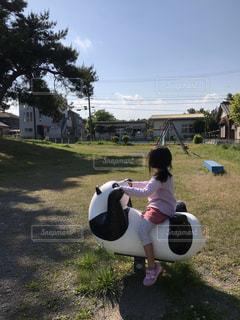 公園にての写真・画像素材[2123291]