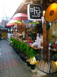 韓国カフェの写真・画像素材[2117625]