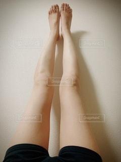 人の脚の写真・画像素材[2119102]