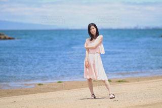 初夏の海岸での写真・画像素材[2161539]