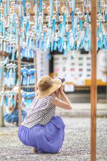 風鈴祭りの写真・画像素材[2368171]