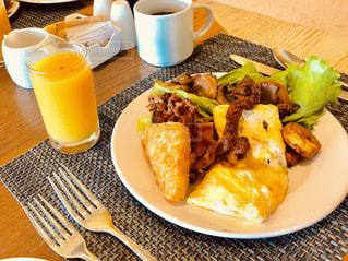 朝食ブッフェの写真・画像素材[2129332]
