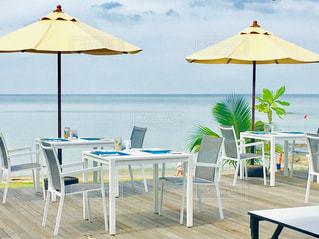 海沿いレストランの写真・画像素材[2209871]