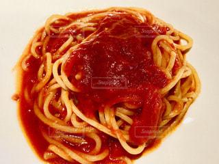 トマトソーススパゲティの写真・画像素材[2287633]