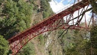欅平にかかる橋の写真・画像素材[2106704]