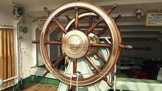 海王丸の操舵輪の写真・画像素材[2175181]