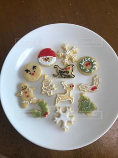 クリスマスアイシングクッキーの写真・画像素材[2108509]