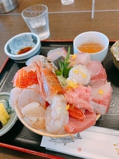 海鮮丼の写真・画像素材[3918761]