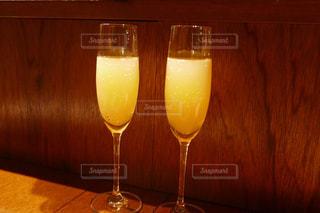 夜の飲み物の写真・画像素材[2107614]