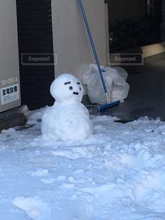 雪の山の写真・画像素材[2107732]