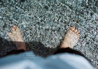 岩のクローズアップの写真・画像素材[2119774]
