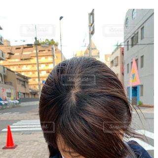 髪の写真・画像素材[2164574]