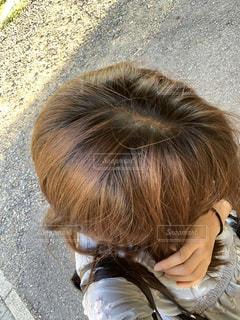髪の毛リタッチしたいの写真・画像素材[2344544]