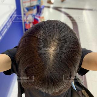 髪の毛さらつやの写真・画像素材[2465070]