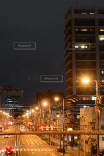 夜の街の写真・画像素材[2108812]
