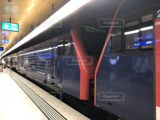 スイスの鉄道の写真・画像素材[2120615]