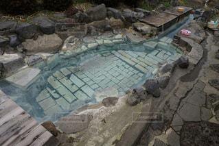 岩の壁の接写の写真・画像素材[2112191]
