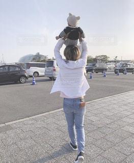 父と息子の写真・画像素材[2116260]