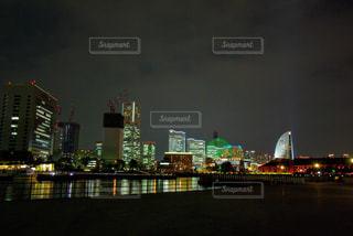 みなとみらいの夜景の写真・画像素材[2117050]