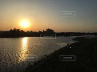 夕暮れの写真・画像素材[2113916]