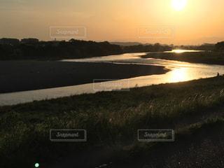 夕日の写真・画像素材[2113917]