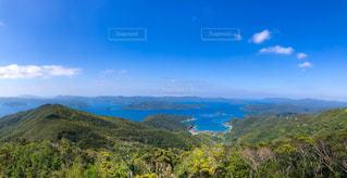 鹿児島県 奄美大島 , 高知山展望台からの眺めの写真・画像素材[2116467]