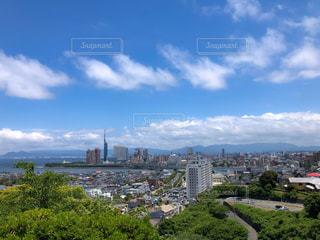 福岡県,愛宕山からの眺めの写真・画像素材[2204959]