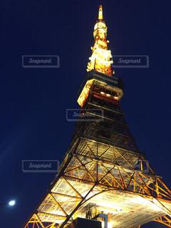 東京タワーライトアップの写真・画像素材[2116595]