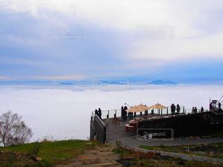 雲海が広がる景色の写真・画像素材[2116831]