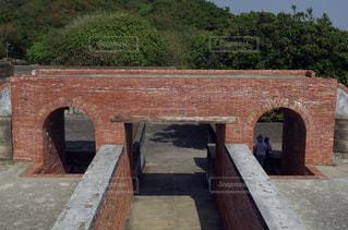 台湾 高雄市の歴史遺産 旗後砲台の写真・画像素材[2150333]