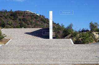 直島 展望階段の写真・画像素材[2154130]