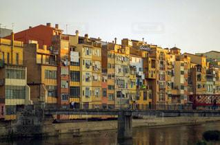 スペイン ジローナ 都市の眺めの写真・画像素材[2176331]