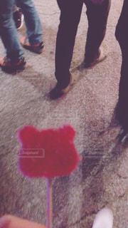 床の上の靴のグループの写真・画像素材[2121392]