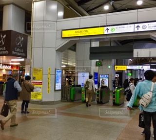 秋葉原昭和通り口駅前改札の写真・画像素材[2126633]
