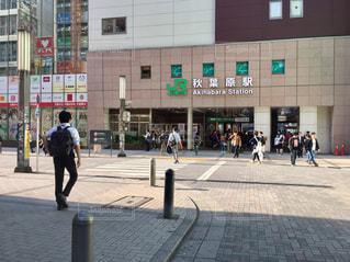 秋葉原駅前の写真・画像素材[2126667]