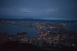 函館の夜景の写真・画像素材[2359875]