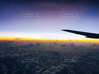 雲の上の写真・画像素材[2122782]
