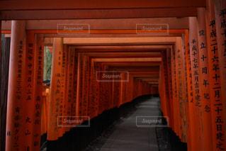 京都 伏見稲荷大社 鳥居の写真・画像素材[2123236]